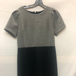 Primary Photo - BRAND: ANN TAYLOR LOFT STYLE: DRESS SHORT SHORT SLEEVE COLOR: BLACK SILVER SIZE: M SKU: 240-24052-48004