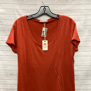 Primary Photo - BRAND:    CLOTHES MENTOR STYLE: TOP SHORT SLEEVE BASIC COLOR: ORANGE SIZE: L OTHER INFO: MARINE LAYER  - SKU: 240-24049-55395