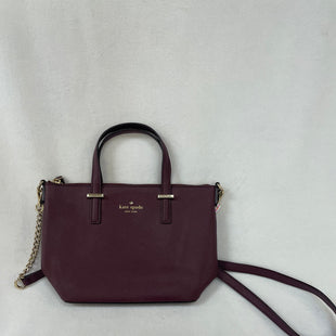 Primary Photo - BRAND: KATE SPADE STYLE: HANDBAG DESIGNER COLOR: PLUM SIZE: SMALL SKU: 240-24093-1148