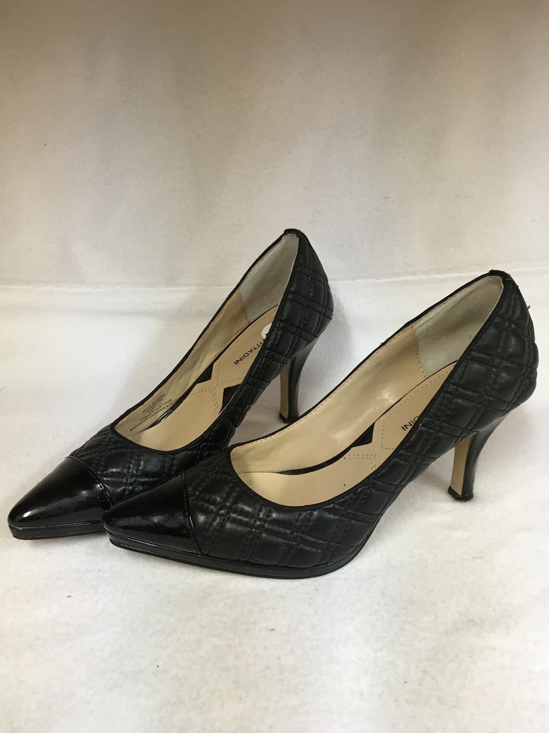 Primary Photo - BRAND: ADRIENNE VITTADINI <BR>STYLE: SHOES HIGH HEEL <BR>COLOR: BLACK <BR>SIZE: 7 <BR>OTHER INFO: AS IS <BR>SKU: 240-24052-51165
