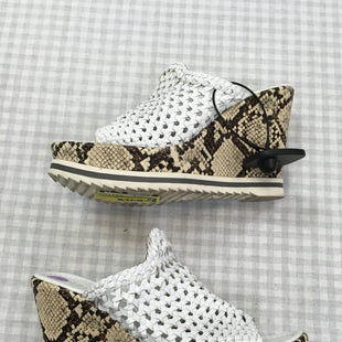 Primary Photo - BRAND: DIBA STYLE: SANDALS LOW COLOR: SNAKESKIN PRINT SIZE: 8 SKU: 240-24049-50773