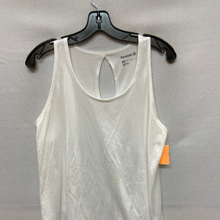 Primary Photo - BRAND: REEBOK STYLE: ATHLETIC TANK TOP COLOR: WHITE SIZE: M SKU: 240-24049-53998