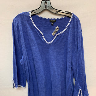 Primary Photo - BRAND: TALBOTS STYLE: TOP LONG SLEEVE COLOR: BLUE SIZE: 2X SKU: 240-24083-5820