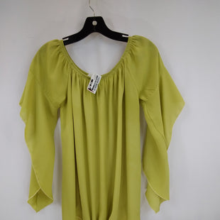 Primary Photo - BRAND:    CLOTHES MENTOR STYLE: TOP SHORT SLEEVE COLOR: CHARTREUSE SIZE: M OTHER INFO: LOVELY J  - SKU: 240-24049-57910