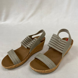 Primary Photo - BRAND: SKECHERS STYLE: SANDALS LOW COLOR: GREY SIZE: 6.5 SKU: 240-24083-9178