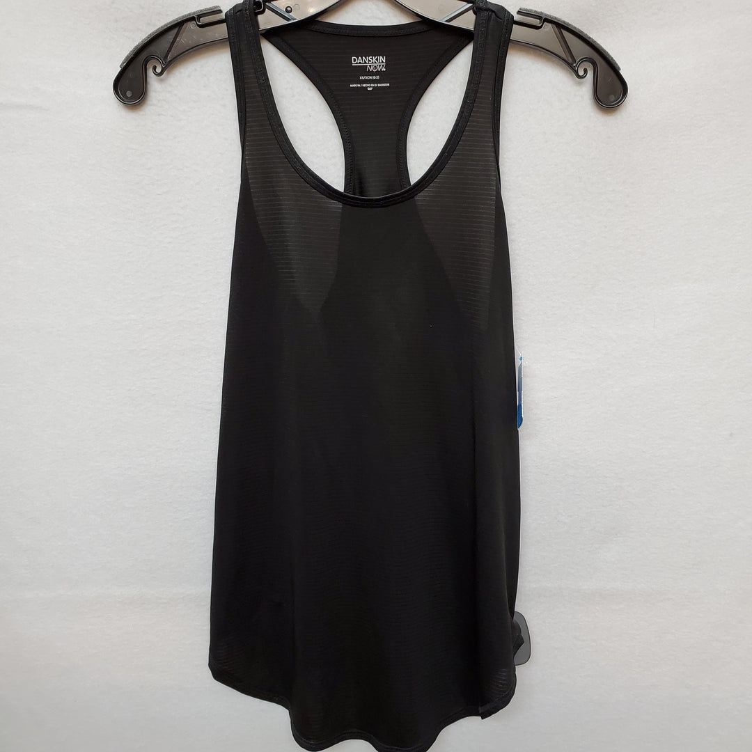 Primary Photo - BRAND: DANSKIN NOW <BR>STYLE: ATHLETIC TANK TOP <BR>COLOR: BLACK <BR>SIZE: XS <BR>SKU: 240-24052-48590
