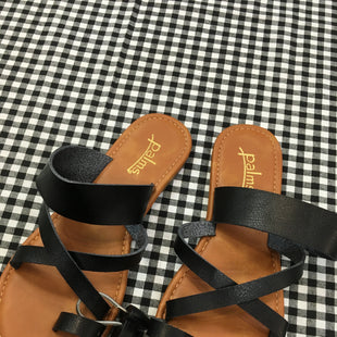 Primary Photo - BRAND:    CLOTHES MENTOR STYLE: SANDALS FLAT COLOR: BLACK SIZE: 6 OTHER INFO: PALMS  - SKU: 240-24049-51346