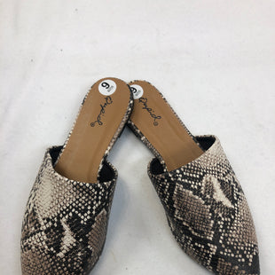 Primary Photo - BRAND: QUPID STYLE: SHOES FLATS COLOR: SNAKESKIN PRINT SIZE: 6 SKU: 240-24049-51776