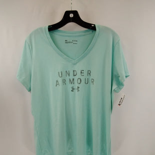 Primary Photo - BRAND: UNDER ARMOUR STYLE: ATHLETIC TOP SHORT SLEEVE COLOR: MINT SIZE: XL SKU: 240-24049-58673