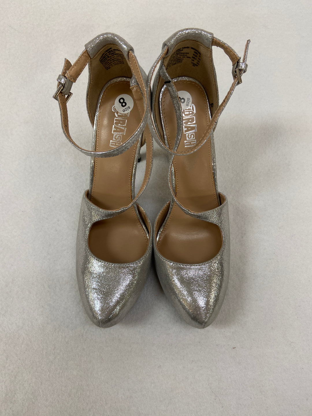 Photo #1 - BRAND:    CLOTHES MENTOR <BR>STYLE: SHOES HIGH HEEL <BR>COLOR: SHINY <BR>SIZE: 8 <BR>OTHER INFO: TRASH - <BR>SKU: 240-24071-4321