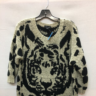 Primary Photo - BRAND: HAUTE MONDE STYLE: SWEATER LIGHTWEIGHT COLOR: ANIMAL PRINT SIZE: L SKU: 240-24052-48661