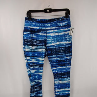 Primary Photo - BRAND: DANSKIN NOW STYLE: ATHLETIC PANTS COLOR: BLUE WHITE SIZE: M SKU: 240-24049-59103