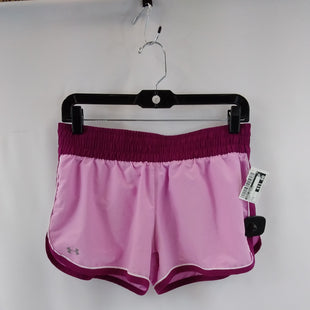 Primary Photo - BRAND: UNDER ARMOUR STYLE: ATHLETIC SHORTS COLOR: PINK SIZE: S SKU: 240-24052-57828