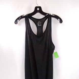 Primary Photo - BRAND: NIKE APPAREL STYLE: ATHLETIC TANK TOP COLOR: BLACK SIZE: XL SKU: 240-24049-58689