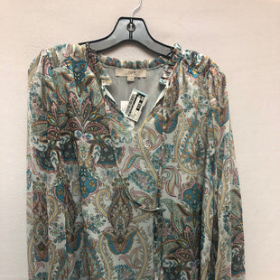 Primary Photo - BRAND: ANN TAYLOR LOFT STYLE: TOP LONG SLEEVE COLOR: BLUE SIZE: XS SKU: 240-24052-47942