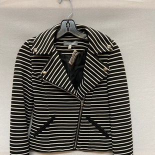 Primary Photo - BRAND:    CLOTHES MENTOR STYLE: BLAZER JACKET COLOR: BLACK WHITE SIZE: XS OTHER INFO: BAGATELLE - SKU: 240-24049-53365