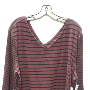 Primary Photo - BRAND: LANE BRYANT STYLE: TOP LONG SLEEVE COLOR: BURGUNDY SIZE: 2X SKU: 240-24049-46856