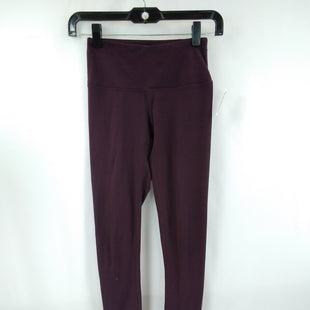 Primary Photo - BRAND: YOGALICIOUS STYLE: ATHLETIC PANTS COLOR: PLUM SIZE: XS SKU: 240-24049-59119