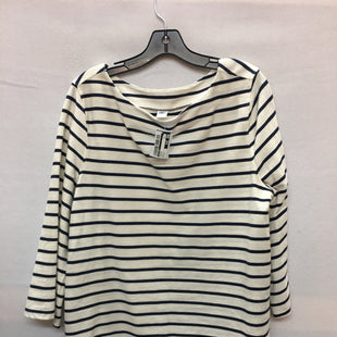 Primary Photo - BRAND: OLD NAVY STYLE: TOP LONG SLEEVE COLOR: STRIPED SIZE: XL SKU: 240-24071-4005