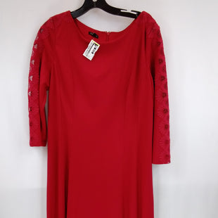 Primary Photo - BRAND: TALBOTS STYLE: DRESS SHORT LONG SLEEVE COLOR: RED SIZE: L OTHER INFO: SIZE L SKU: 240-24049-57873