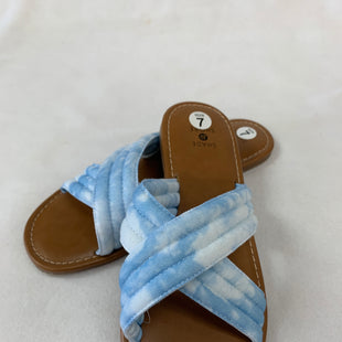 Primary Photo - BRAND:  CME STYLE: SANDALS FLAT COLOR: BLUE SIZE: 7 OTHER INFO: SHADE & SHORE  - SKU: 240-24049-55523