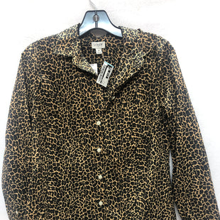 Primary Photo - BRAND: J CREW O STYLE: TOP LONG SLEEVE COLOR: ANIMAL PRINT SIZE: S SKU: 240-24052-47944