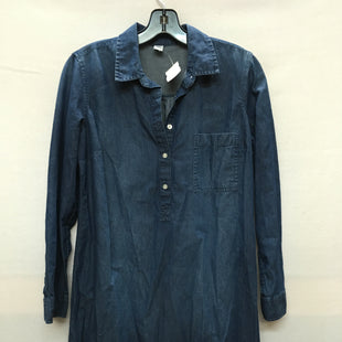 Primary Photo - BRAND: OLD NAVY STYLE: DRESS SHORT LONG SLEEVE COLOR: DENIM SIZE: S SKU: 240-24071-3269