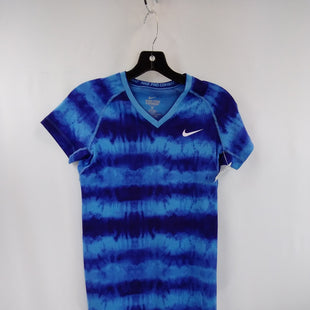 Primary Photo - BRAND: NIKE APPAREL STYLE: ATHLETIC TOP SHORT SLEEVE COLOR: BLUE SIZE: S SKU: 240-24049-59097