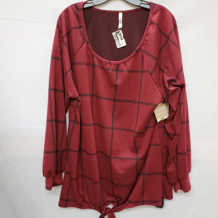 Primary Photo - BRAND: ACTING PRO STYLE: TOP LONG SLEEVE COLOR: PLAID SIZE: 3X SKU: 240-24049-49498