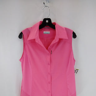 Primary Photo - BRAND: COLUMBIA STYLE: ATHLETIC TANK TOP COLOR: PINK SIZE: M SKU: 240-24071-5931