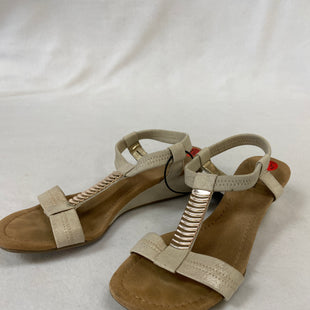 Primary Photo - BRAND: ALFANI STYLE: SANDALS LOW COLOR: GOLD SIZE: 6.5 SKU: 240-24083-9186