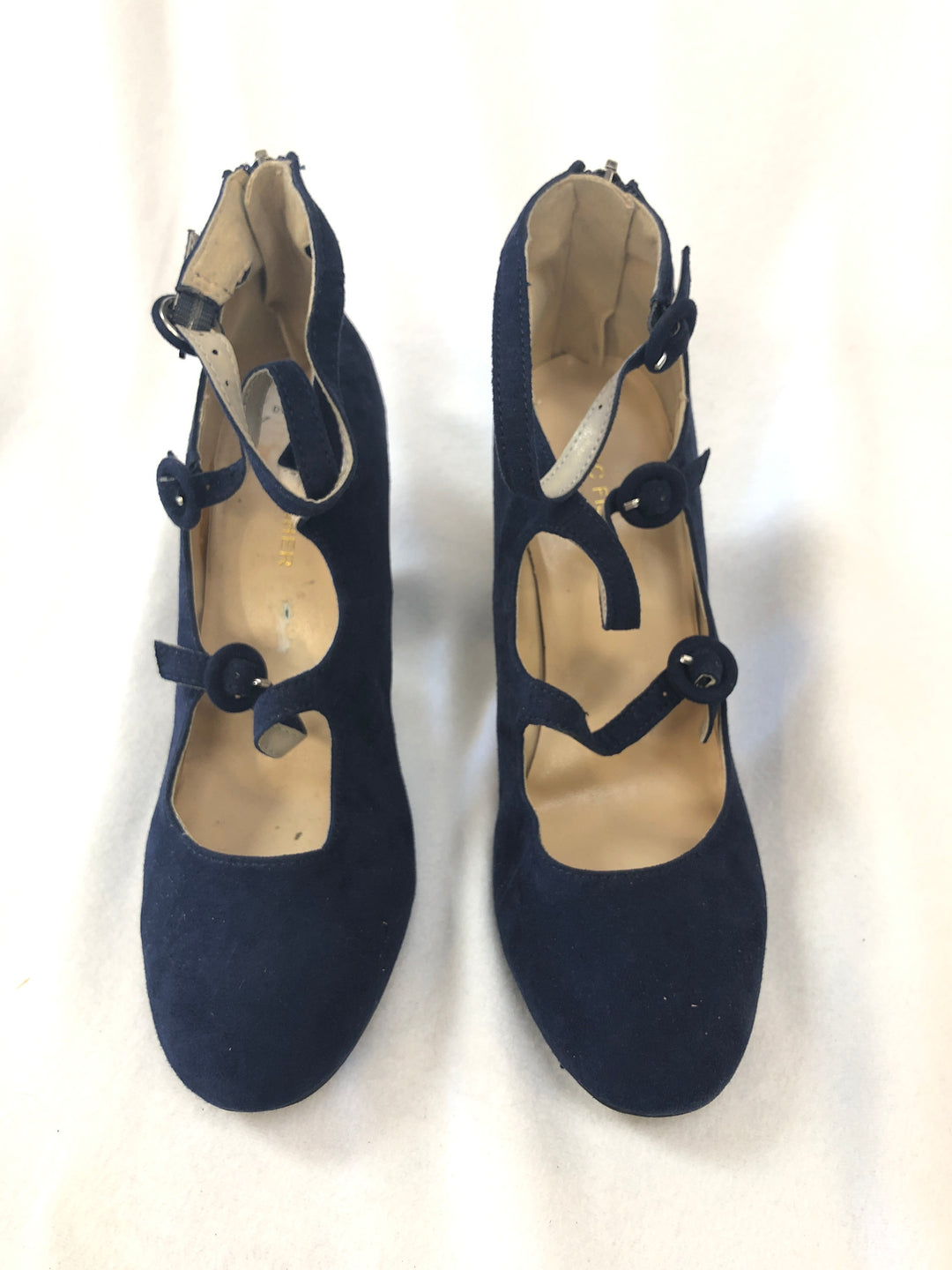 Primary Photo - BRAND: MARC FISHER <BR>STYLE: SHOES HIGH HEEL <BR>COLOR: NAVY <BR>SIZE: 7.5 <BR>SKU: 240-24052-51405