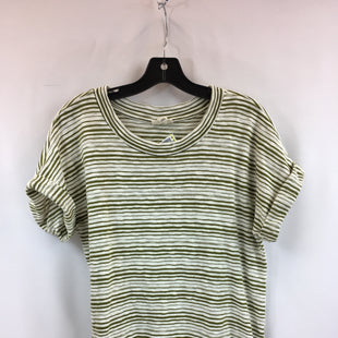 Primary Photo - BRAND: ANA STYLE: TOP SHORT SLEEVE COLOR: OLIVE SIZE: L SKU: 240-24049-57922