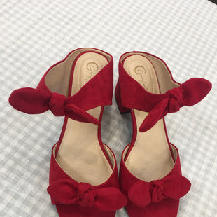 Primary Photo - BRAND: CATO STYLE: SANDALS LOW COLOR: RED SIZE: 9 SKU: 240-24052-48483
