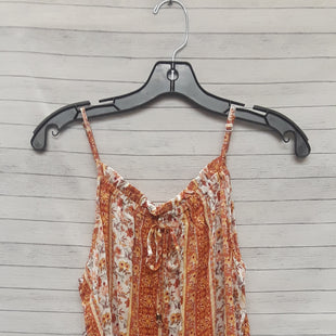 Primary Photo - BRAND: HIPPIE ROSE STYLE: TOP SLEEVELESS COLOR: ORANGE SIZE: L SKU: 240-24049-55761