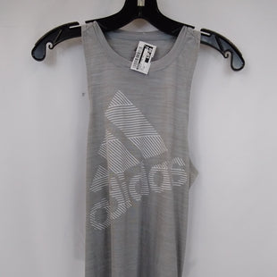 Primary Photo - BRAND: ADIDAS STYLE: ATHLETIC TANK TOP COLOR: DOLPHIN SIZE: XS SKU: 240-24091-7476