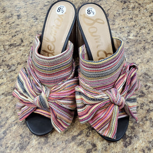 Primary Photo - BRAND: SAM EDELMAN STYLE: SANDALS LOW COLOR: MULTI SIZE: 8.5 SKU: 240-24049-51059