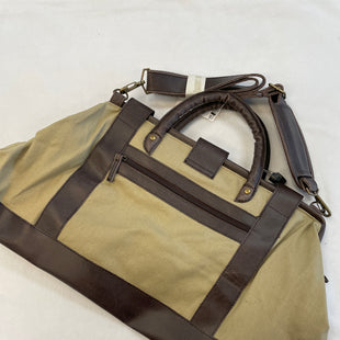 Primary Photo - BRAND:    CLOTHES MENTOR STYLE: TOTE COLOR: TAN SIZE: MEDIUM OTHER INFO: BURLAP& BROWN - SKU: 240-24052-51600