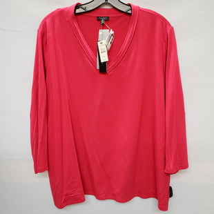 Primary Photo - BRAND: TALBOTS STYLE: TOP LONG SLEEVE COLOR: RED SIZE: 3X OTHER INFO: PETITE SKU: 240-24093-72