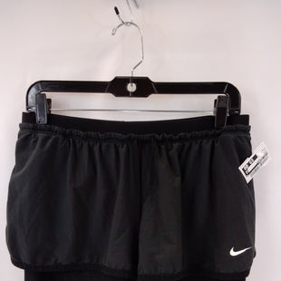 Primary Photo - BRAND: NIKE APPAREL STYLE: ATHLETIC SHORTS COLOR: BLACK SIZE: L SKU: 240-24071-5888