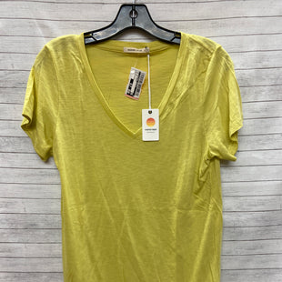 Primary Photo - BRAND:    CLOTHES MENTOR STYLE: TOP SHORT SLEEVE BASIC COLOR: YELLOW SIZE: L OTHER INFO: MARINE LAYER - SKU: 240-24049-55397