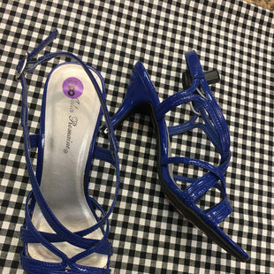 Primary Photo - BRAND:    CLOTHES MENTOR STYLE: SANDALS LOW COLOR: BLUE SIZE: 8 OTHER INFO: JOHN ROMAINE - SKU: 240-24061-34238