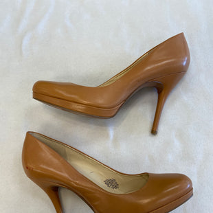Primary Photo - BRAND: NINE WEST SHOES STYLE: SHOES HIGH HEEL COLOR: CAMEL SIZE: 10 SKU: 240-24052-53160