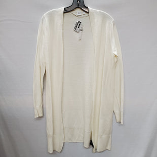 Primary Photo - BRAND: GAP STYLE: SWEATER CARDIGAN LIGHTWEIGHT COLOR: WHITE SIZE: M SKU: 240-24071-3956