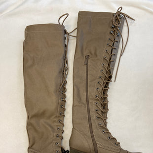 Primary Photo - BRAND: BRECKELLES STYLE: BOOTS KNEE COLOR: TAUPE SIZE: 6 SKU: 240-24052-51912