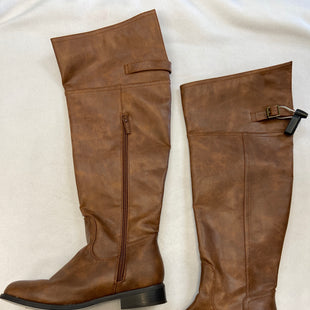 Primary Photo - BRAND: BRECKELLES STYLE: BOOTS KNEE COLOR: BROWN SIZE: 6 SKU: 240-24052-51913