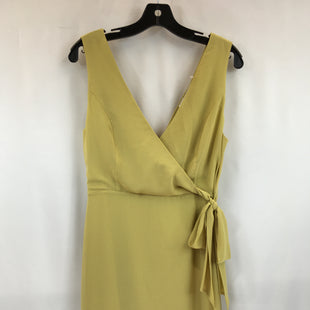 Primary Photo - BRAND: NAKED ZEBRA STYLE: DRESS SHORT SLEEVELESS COLOR: YELLOW SIZE: S SKU: 240-24071-5640