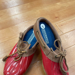 Primary Photo - BRAND: SPERRY STYLE: SHOES FLATS COLOR: RED SIZE: 6 SKU: 240-24052-52914
