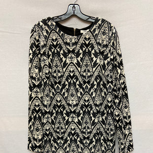 Primary Photo - BRAND: CATO STYLE: DRESS SHORT LONG SLEEVE COLOR: BLACK WHITE SIZE: XL SKU: 240-24049-53466