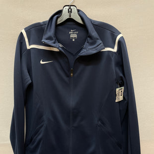 Primary Photo - BRAND: NIKE APPAREL STYLE: ATHLETIC JACKET COLOR: NAVY SIZE: L SKU: 240-24052-51340